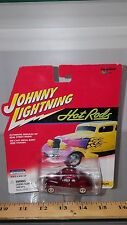 1/64 JOHNNY LIGHTNING HOT RODS 1937  FORD COUPE RED b83