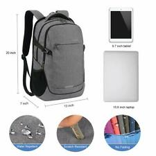 Laptop Backpack with Rain Cover, 15.6 inch Business Travel Laptop Daypack