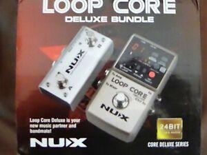 NUX Loop Core Deluxe 24-bit Looper Pedal Bundle