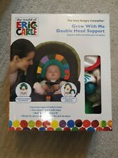 "Eric Carleâ""¢ ""Grow with Me"" Baby Head Support 0-24M Pillow Stroller Car Seats"