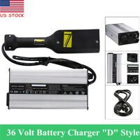 """36V Powerwise 36Volt  5Amps for TXT Medalist Golf Cart Battery Charger """"D"""" Style"""