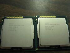 Lot of 2 Intel Pentium G840 2.8GHz Dual-Core Desktop Processor SR05P