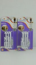 Dream Baby ~ Safety Latches * 2 Packages of 6 Each