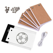 Flip Book Kit LED 300 Sheets Lightbox Pad For Drawing & Tracing Animation Paper