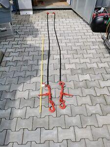 Zurrketten Zurrkette Spannkette Ratschenspanner Kette 1tlg  2,5m