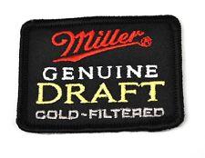 Miller BIRRA USA Mend FERRO Toppa Emblema PATCH RICAMATO STOFFA Adesivo