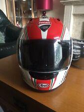 Arai RX7 GP RR05 Collectors Edition Ducati Corse Motorcycle Helmet Good Cond XL