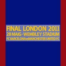 2010-11 Barcelona Champions League Final Wembley 2011 Fan MDT for Shirt Jersey