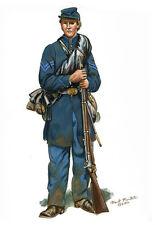 Mark Maritato Civil War Soldier Union Infantryman Signed Giclée Paper Art Print