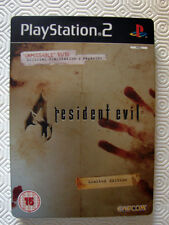 RESIDENT EVIL 4 ENGLISH LIMITED EDITION PS2 INTROVABILE