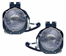 fit 96-05 Freightliner Century Truck Outer Head Light PAIR