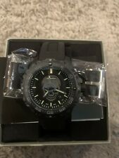 Isobrite Enforcer II Limited Edition ISO3007 Swiss Quartz 47 mm w Black Rubber