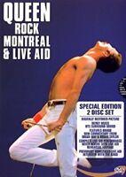 Queen Rock Montreal & Live Aid 1981 DVD Brand New 2008 Region 2