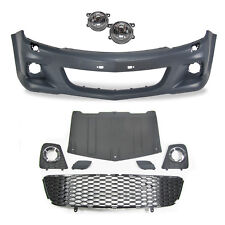 VAUXHALL OPEL ASTRA H MK5 FRONT BUMPER With Fog lights OPC STYLE SPORT ABS GSI