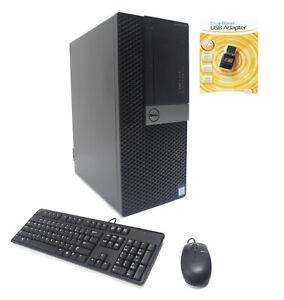 Dell 7040 MT 4-Core i7-6700 3.40/4.00GHz 16GB Ram 256GB NVMe SSD 1TB HDD AMD 4GB