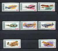 S12267) Guinea MNH New 1979, Aviation History 8v Imperforated