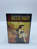 Dead Riot / Flesh For The Beast  (DVD, 2007, 2-Disc Set, Double Feature)
