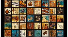 "QUILT PANEL Quilting Treasures ~ ENCORE ~ by Dan Morris (27013 J) 24"" X 45"""