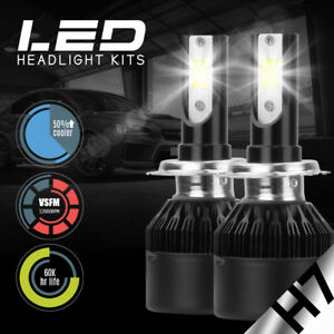 XENTEC LED HID Headlight Conversion kit H7 6000K for Volkswagen Rabbit 2006-2009