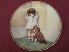 In Disgrace collector plate Bessie Pease Gutmann Child's Best Friend Hamilton
