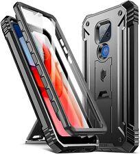 Motorola Moto G Play (2021) Phone Case Poetic Shockproof Kickstand Cover Black