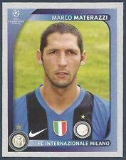 11 Panini Liga de Campeones 2010-2011 Marco Materazzi Inter de Milán no