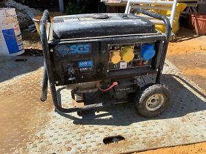 Sgs 6500w Petrol Electric Start Generator 110v 230v