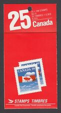 CANADA BOOKLET BK115 25 x 39c FLAG OVER CLOUDS