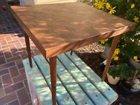 Vintage Chess/Checkers Accent Table