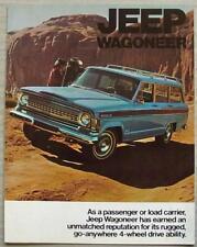 JEEP WAGONEER USA Sales Brochure c1973 #JIC 7354