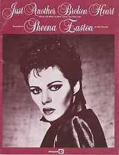 Solo un altro cuore spezzato-Sheena Easton - 1981 SPARTITI MUSICALI