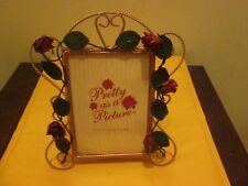 "Pretty As A Picture 5"" X 7"" Photo Frame New No Box"
