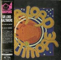 SIR LORD BALTIMORE-S/T-IMPORT MINI LP CD WITH JAPAN OBI Ltd/Ed G09