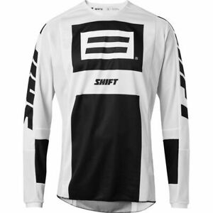 Shift Whit3 Label Archival Motocross Jersey - Black/White, Size Extra-Large