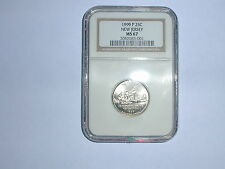 1999-P 25C New Jersey State Quarter NGC MS 67