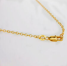 """1 PCS 28"""" Wholesale Fashion Making Jewelry 18K Gold Filled Rolo Necklaces Chains"""