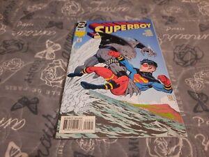 SUPERBOY # 9, First 1st Appearance King Shark, Suicide Squad, Hi Grade Copy
