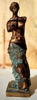 Dali: bronze, numéroté signé. Métamorphose topologique de la vénus de Milo