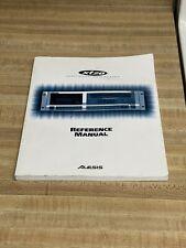Alesis XT20 Digital Audio Recorder Reference Manual