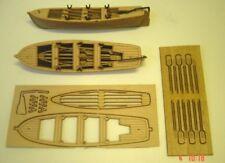 Mantua Plastic and Wood Lifeboat Kit Length 105mm