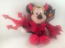 Disney Bean Bag Mickey Lucifer Devil Disneyland Paris RARE VHTF Halloween
