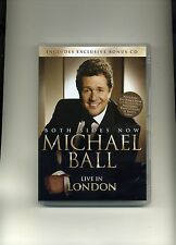 MICHAEL BALL - BOTH SIDES NOW - NEW CD & DVD!!