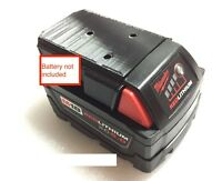 1x large wall mount or TSA battery cover for Milwaukee 18V M18 XC18 battery