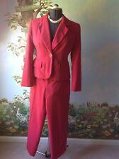 G Hook Petite  Women's Long Sleeve Coral Pant Suit Size 8P