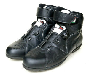 Sidi Astro Motorcycle Boots Tecno 3 Wire Lace Ankle Height Grip Sole Men's 11.5