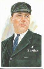 Al Barlick Perez-Steele Hall of Fame Art Postcard Umpire #201