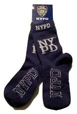 NYPD New York City Police Department Socks Thin Blue Line Unisex Back Support