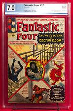 Fantastic Four #17 PGX 7.0 FN/VF Fine / Very Fine Doom Cover + CGC!!!