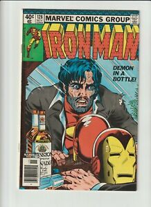 1979 Marvel Comics Book Iron Man #128 Demon in a Bottle Alcoholism Classic Cover