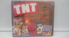PACK NEW TO BRAND TNT 3 CASSETTE SPECTRUM SINCLAIR ZX 48 128K.COMBINO SHIPPING